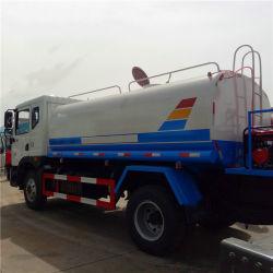 4X2 10000L de agua de rociadores del depósito Euro Euro III V 180 CV 10t de pulverización de agua nebulizada carretilla