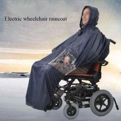 Navy Raincoat para mobilidade cadeiras de rodas Eléctrica