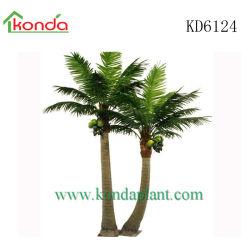 공장 도매 인공 플라스틱 야외 코코넛 팜 트리 가든 장식 홈 장식