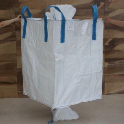 1 Tonnen Jumbo Bag/Big Bag/FIBC Bag/Bulk Bag 1000kg 1500kg 2000kg Baffle Q-Bag leitfähige Big Bags Anti-Static-Taschen Kunststoff Super Sack