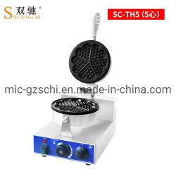 핫 세일 1 플레이트 와플 베이커 머핀 메이커 고품질 상용 사용