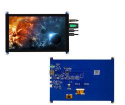 شاشة لمس مقاس 5 بوصات، شاشة HDMI عالية الدقة، شاشة TFT LCD بدقة 800 × 480 شاشة عرض لجهاز Raspberry Pi ذات 4 أسلاك مقاومة لللمس HDMI