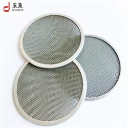 304L 316L Roestvrij staal Geweven Nylon Filter 304 316 om Filter van het Netwerk van de Draad van de Schijf van het Metaal de Chemische