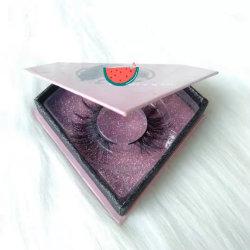 ストリップのシベリアのミンク3Dの磁気拡張ツールのベンダーの多彩な偽の容器の箱のまつげ