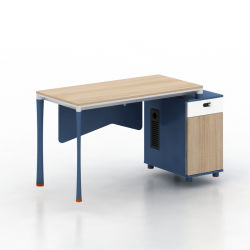 도매가 L-Shaped 사무실 책상 현대 매니저 테이블
