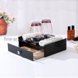 Hotel Supplies Custom multifonctionnel de l'utilisation quotidienne en acrylique Boîte de rangement de maquillage de l'organiseur