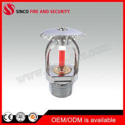 Réponse de l'ampoule standard de 155 Tête sprinkleur verticale