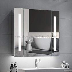 علا جدار بيتيّة زخرفيّة [600إكس800مّ] [دووبل دوور] غرفة حمّام [لد] خزانة يضاء [مديسن كبينت] مع مقبس تجويف