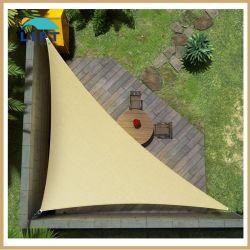 Großer Sonnenschirm Segel 20' x 20' x 20' gleichseitig Triangle Heavy Duty Stärkung langlebige Outdoor-Canopy UV Block Stoff Design Metallfeder Verstärkung