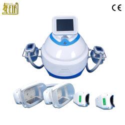 La cavitation Cryolipolysis Liposcution Cryo Fat Réduire appareil avec 4 poignées