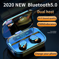 auricular sem fios Tws telemóveis Bluetooth Headset com caixa de carga
