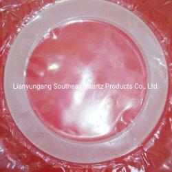 Verre de quartz laiteux Anneau de tubes en verre de silice