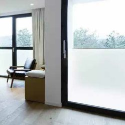 Hot Sell Snow Glass Building Frosted Window Adhested Vinyl Paper