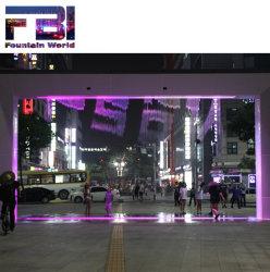 Fontana personalizzata esterna della tenda di Digitahi di formato con gli indicatori luminosi di RGB