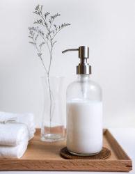 Vaso Dosificador de jabón con atomizador para cocina y cuarto de baño - detergente, la mano de jabón, loción