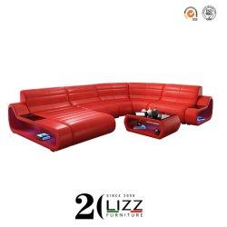 Casa de Sonho Sala sofá de couro seccional moderno conjunto de móveis