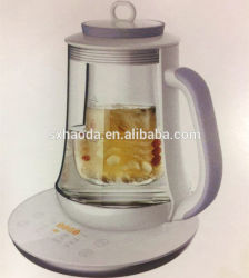 مصنع يبيع عالية الجودة الكهربائية الروسية ساموفار لصناعة الشاي التركية مع تيابوت خزفي سعة 1 لتر