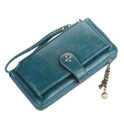 Настраиваемые женщин кошельки держатель карточки классический кошелек Zipper Wallet