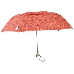 Автоматическая Открыть для использования вне помещений складной зонтик двойной корпус рекламных зонтик