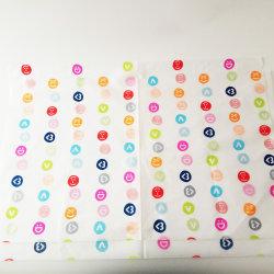 Aufbereitetes personifiziertes Firmenzeichen gedrucktes buntes Geschenk-Verpackungs-Luxuxseidenpapier