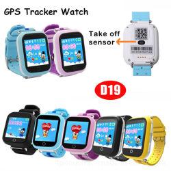 D19 Kids GPS Smart Tracking Watch con avviso di rimozione 600mAh