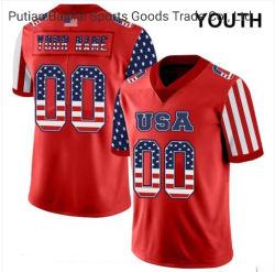 À la mode à chaud plein de SUBLIMATION Maillot de football shirt de sport jeunesse