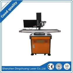 La cámara CCD de fibra de posicionamiento automático de identificación de marcado láser Grabado láser Máquina de marcador para Ultra pequeñas partes y letras de marcado
