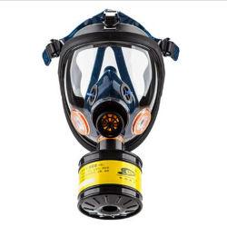 Segurança Antivírus Silicone máscara de gás respirador facial completo