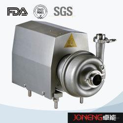 Aço inoxidável sanitária lóbulo rotativo, Bomba de escorva automática da bomba CIP, bomba de água centrífuga