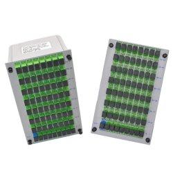 1X64 módulo PLC Splitter de fibra óptica tipo casete con conector SC PLC Splitter