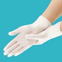 Guanti monouso in lattice bianchi non scivolanti da laboratorio Guanti protettivi pulizia casalinghi Materiali di consumo