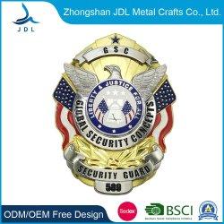 Kundenspezifische Qualitäts-Metallantike-Messingandenken-Abzeichen (100)