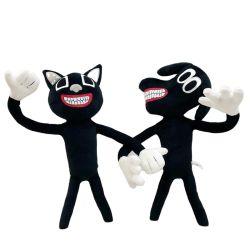Nuovo design Baby bambino morbido pelato giocattolo 35 cm cartone Cat E cane Halloween Siren testa peluche giocattolo Chirstmas peluche giocattolo Per bambini