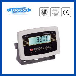 Lp7516 6 van de LEIDENE van de Schaal van Cijfers Indicator van het Gewicht van het Gewicht LCD Vertoning de Digitale Wegende Elektrische