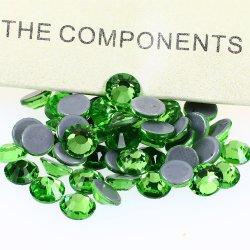 Rhinestones all'ingrosso di cristallo di Hotfix per gli accessori dell'indumento