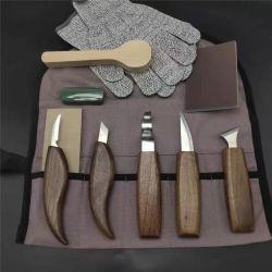 Coltelli per carving in legno durevoli per tappeti professionali
