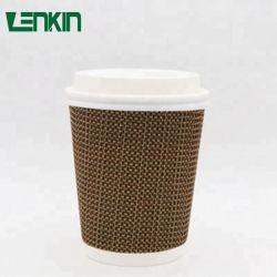 Parede de ondulação delicado papel Eco-Friendly Cup para chá e café