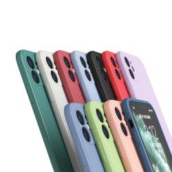 أقل سعر سائل سيليكون جل مطاط كامل الجسم مضاد للصدمات حقيبة حماية من السقوط لجهاز iPhone 12 PRO