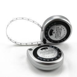 은 Waterdrop 모양 바디 건강 BMI 측정 테이프