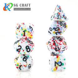 رذائل صغيرة مخصصة تضع ثلجات صغيرة بلاستيكية من 7 رذائل الراتينج القرد مع لعبة بلاستيك قرد عالية الجودة