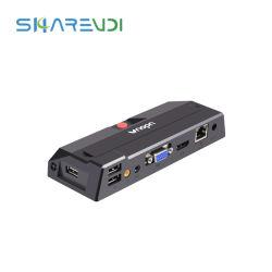 Tamanho pequeno Quad Core de 1,5 g Thin Client R0 Net estação PC com USB 3