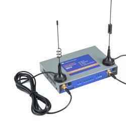 M2M IoT Cellulaire industriële FDD/TDD/LTE/UMTS/WCDMA/HSDPA/HSUPA-router (4xLAN-poorten) Voor videobewaking CCTV IP-camera industriële toepassing Rail Way Systeem