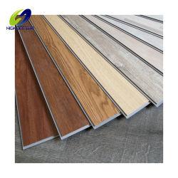 Luxury Lvt volta seca Lvp Spc pranchas de vinil PVC Azulejos do piso