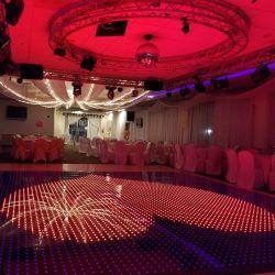 Discothèque/club/DJ/événements Design LED couleur RGB de mariage de plancher de danse numérique portable