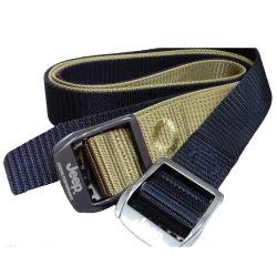 Moda Mujer fresco personalizados baratos correa correa elástica del Ejército de alta calidad correa de nylon poliéster Mens Cinturón
