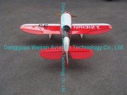Geebee R3-100cc Fibra de vidrio y madera de balsa del modelo de avión de ala fija modelo RC