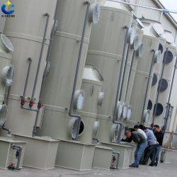 Eficiência elevada torre de pulverização para a SOX, NOX, H2s de ar de resíduos de instalações de tratamento de purificação do Depurador