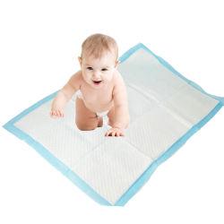 折る携帯用赤ん坊のおむつの変更のパッド