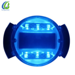 Prodotti d'avvertimento della strada della vite prigioniera dell'indicatore luminoso LED di traffico solare di sicurezza per la strada