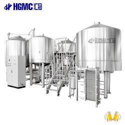 5000L 5000L 50hl 産業用ステンレススチール蒸気加熱 2 容器 大型ビール醸造設備の販売